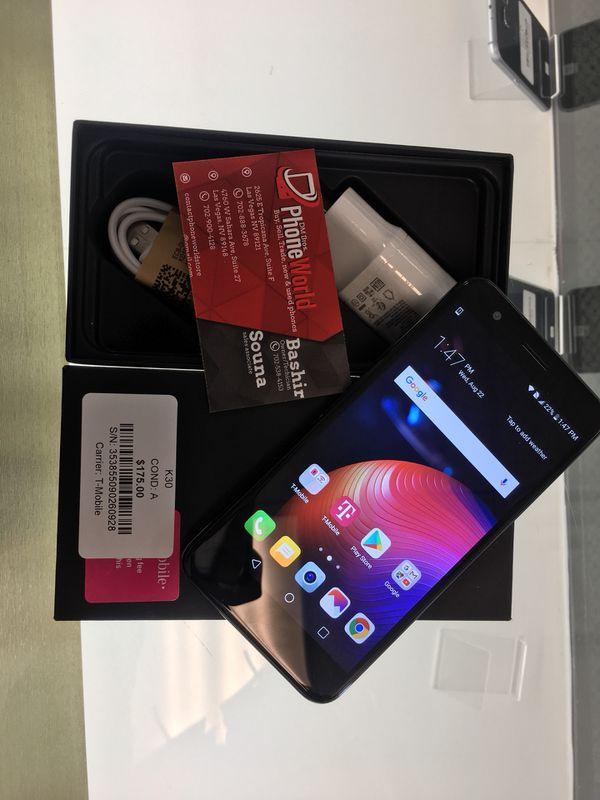 IN BOX LG K30!( t-mobile) for Sale in Las Vegas, NV - OfferUp