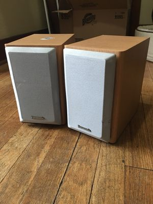 Panasonic SB PM03 2 Way Bookshelf Stereo Speakers For Sale In Wyoming MI