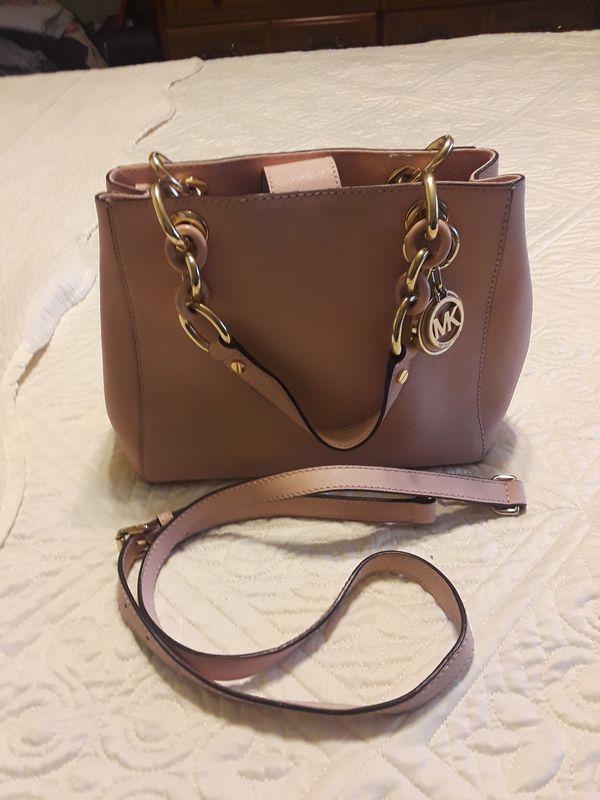 4c112c6dc7b0 Authentic Michael Kors pink handbag for Sale in San Jose
