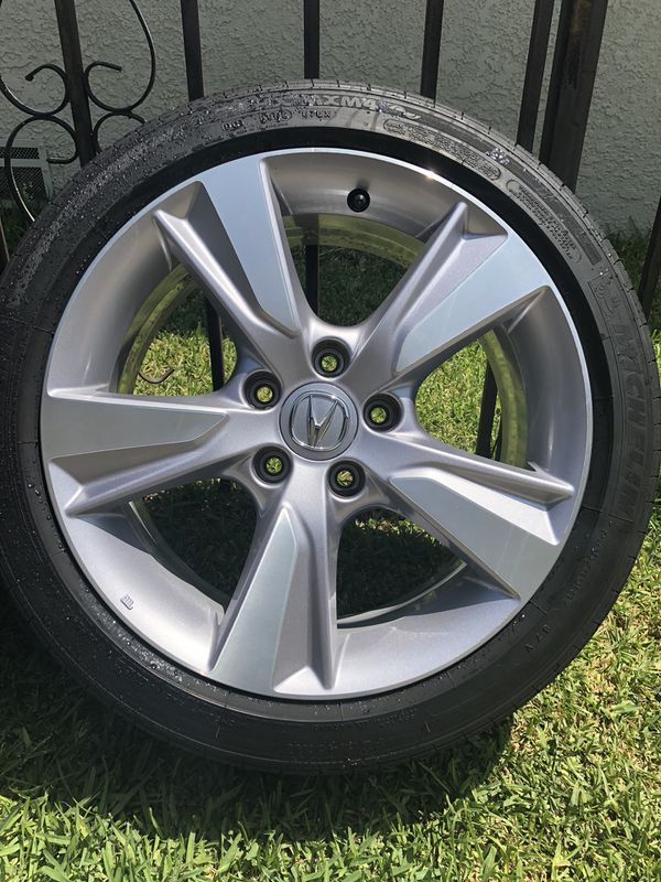 Acura ILX OEM Wheels Tires For Sale In South Gate CA OfferUp - Acura ilx rims