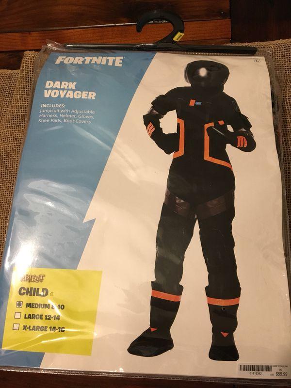 Spirit Halloween Fortnite Costumes For Kids.Fortnite Dark Voyager Spirit Halloween Costume Child Medium For Sale In San Ramon Ca Offerup
