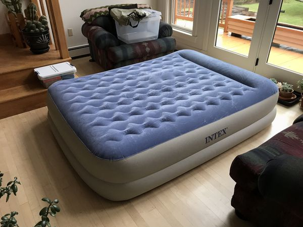 Intex Queen Airbed Mattress For Sale In Cornville Me Offerup