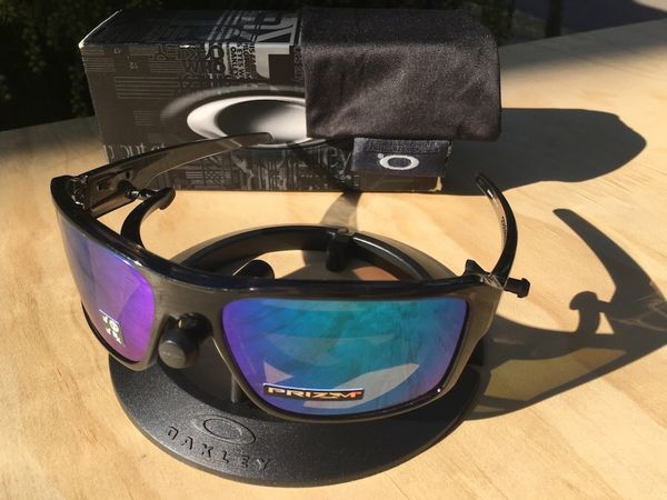 a242ab2af9 NEW Oakley Double Edge sunglasses - Prizm Sapphire polarized for ...