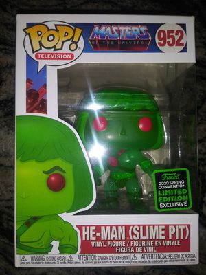 Photo Masters of the universe Slimepit he-man funko pop