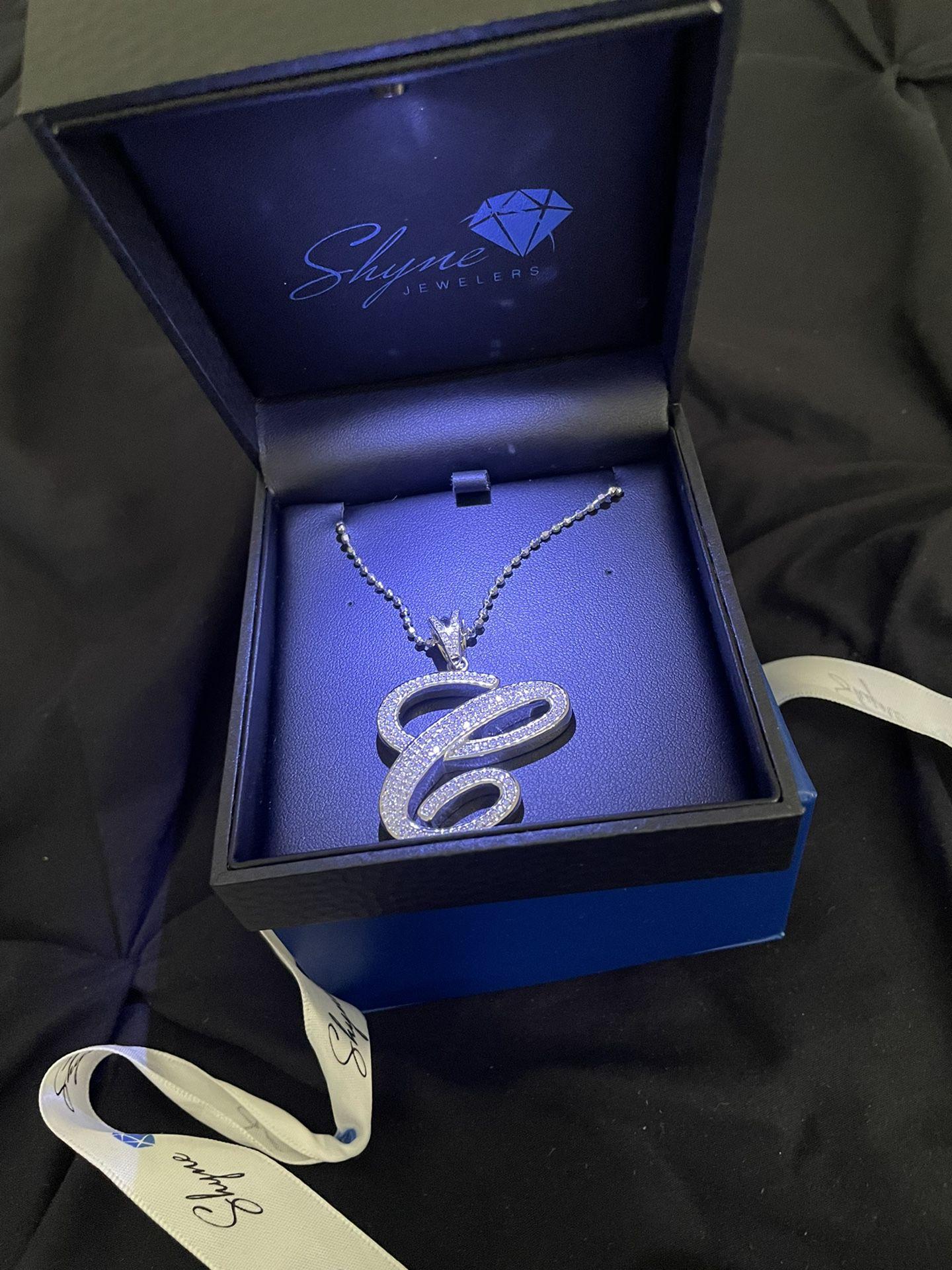 "Shyne Jewelers ""C"" Pendent"