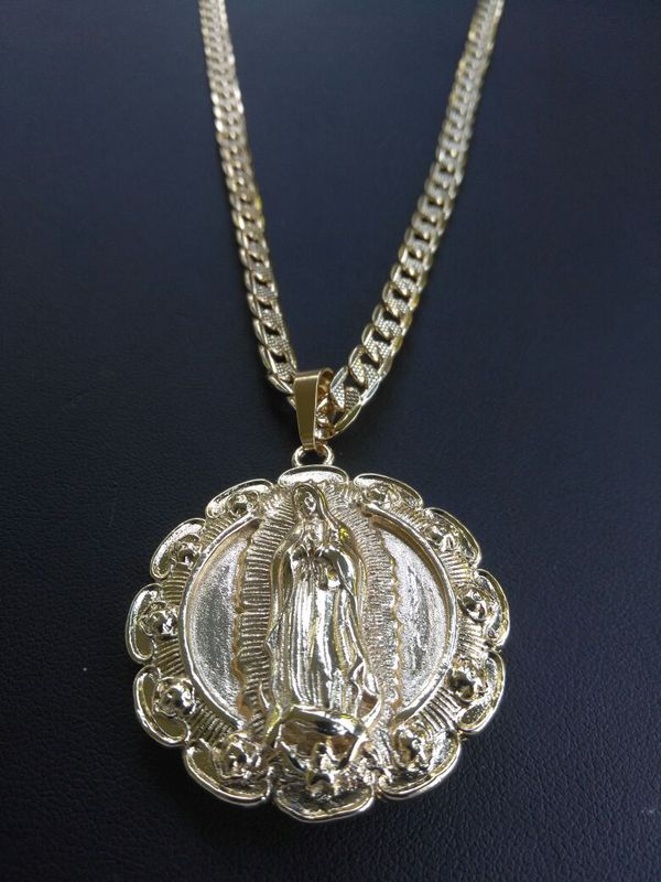 pendant medallion lab masterofbling silver round diamond tone pharaoh gold pin
