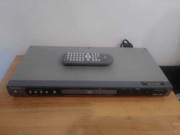 MAGNAVOX DVD PLAYER MSD 126 PROGRESSIVE SCAN DIGITAL COLBY for Sale in  Warren, MI - OfferUp