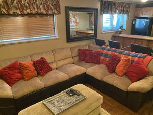 Photo Sectional couch sectional coach and recliner