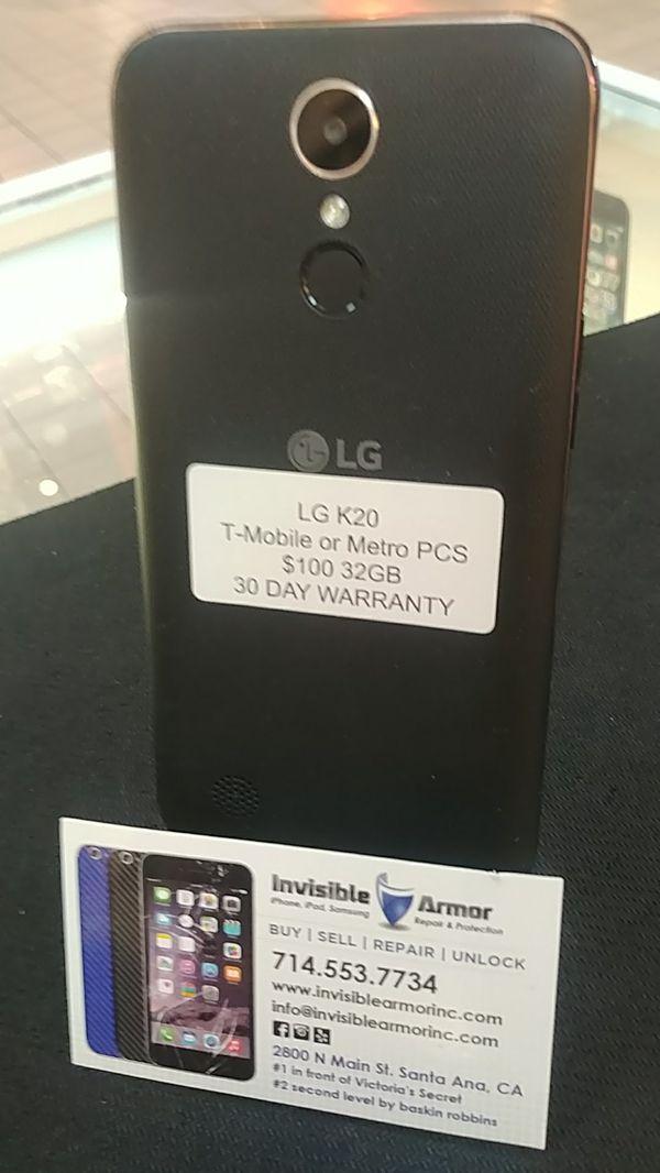 LG K20 32GB T-Mobile or Metro for Sale in Santa Ana, CA - OfferUp