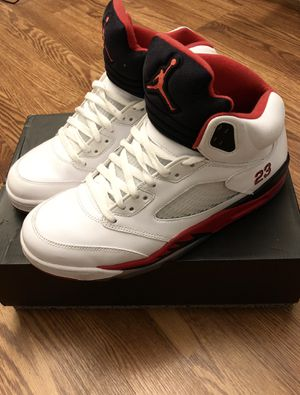 "Jordan 5 Retro ""Fire Red"" - Size 10 for Sale in Herndon, VA"