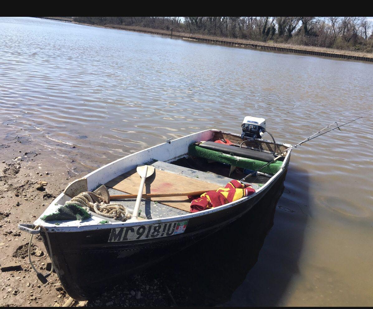 Photo 12ft Jon boat for trade For Kayak