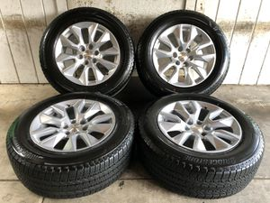 "Photo 2019 Chevy Tahoe Suburban Silverado 20"" Wheels Rims Tires 275/60/20 NEW"