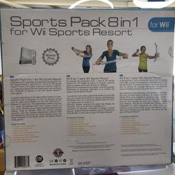 Sports pack 8 in 1 wii sport resort Thumbnail