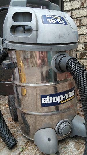 Photo Shop vac 16 gallon 4.5 hp