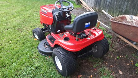 Troy-Bilt riding lawn tractor Thumbnail
