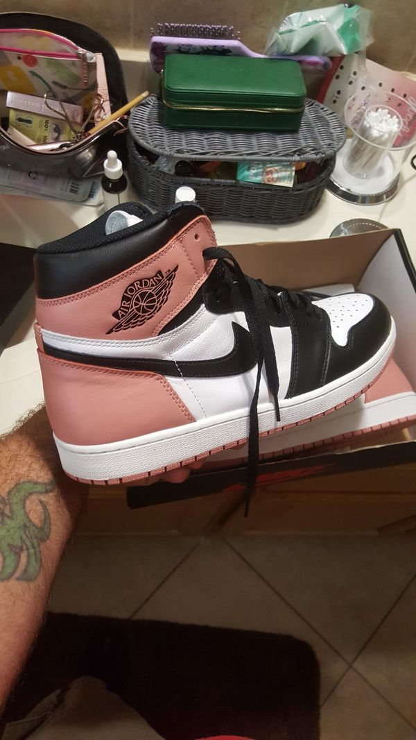 huge discount 1e153 6efb8 Rust pink Jordan 1s (Art Basel) release for Sale in Oakland Park, FL -  OfferUp