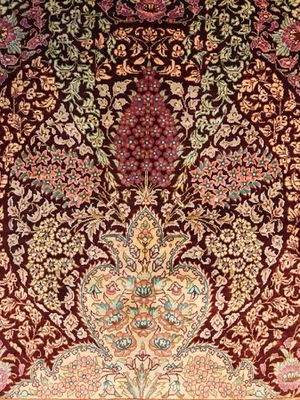 Incredibly fine Persian Qum signed all silk rug! for Sale in Rockville, MD