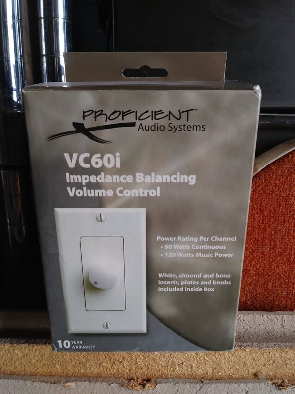 Vc60i impedance matching volume control for Sale in Phoenix, AZ - OfferUp