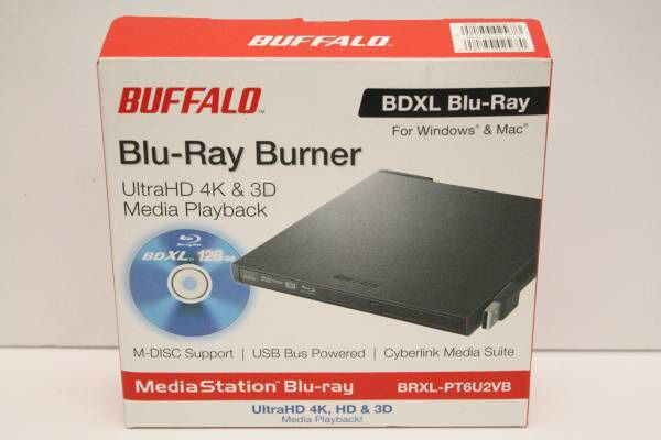 BUFFALO BDXL support USB2 0 portable Blu-ray drive flat design Ultra for  Sale in Torrance, CA - OfferUp
