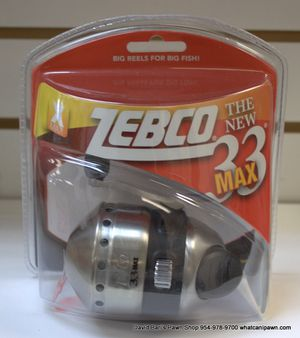 Zebco 33 Max Spincast Reel for Sale in North Lauderdale, FL