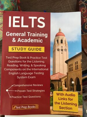 IELTS 2018- General and Academic training( brand new) for Sale in San Francisco, CA