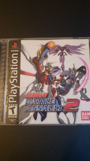 Gundam Battle Assault 2 (PS1) for Sale in Atlanta, GA