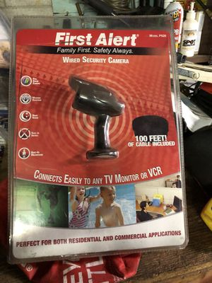 First alert wired security camera for Sale in Columbus, OH