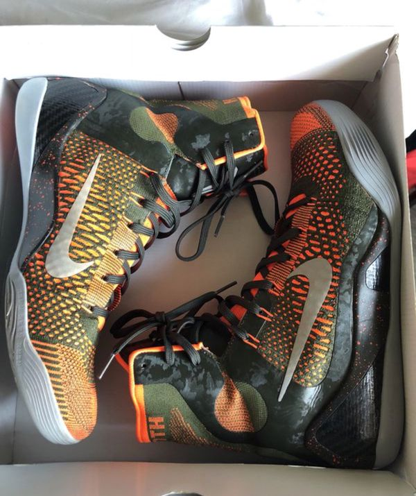 online retailer e81ea 7102f Nike Kobe 9 Elite Sequía