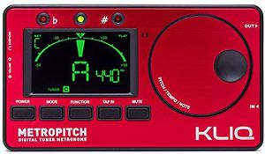 KLIQ MetroPitch - Metronome Tuner for All Instruments - with Guitar, Bass, Violin for Sale in Riverside, CA