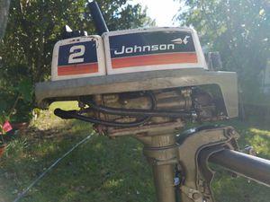2 HP outboard gas boat motor for Sale in Eustis, FL