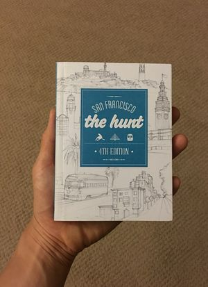 The Hunt San Francisco - San Francisco Guide Book - Brand New for Sale in San Francisco, CA
