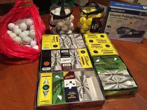 Large NEW and Used Golf Ball Lot for Sale in Great Falls, VA