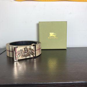 Burberry belt for Sale in Fairfax Station, VA
