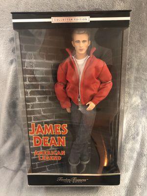 Photo James Dean figure Mattel Collector Edition