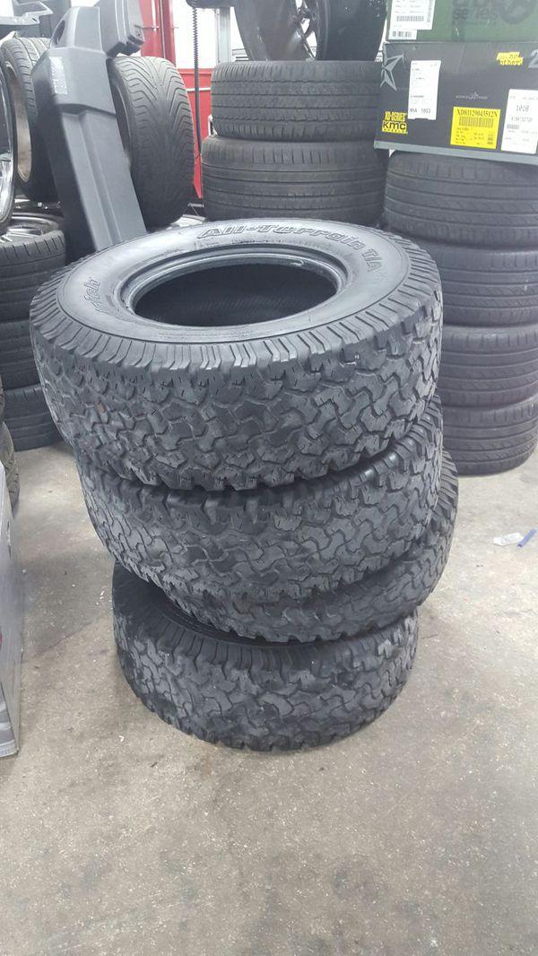 31×10 50r15 Tires >> 31 X 10 50 R 15 Bfgoodrich Mud Terrain Used Tires For Sale In Miami Fl Offerup