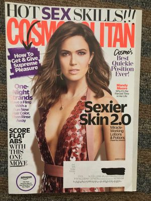 March 2018 Cosmopolitan magazine celebrity Mandy Moore cover...never read for Sale in Madison Heights, VA