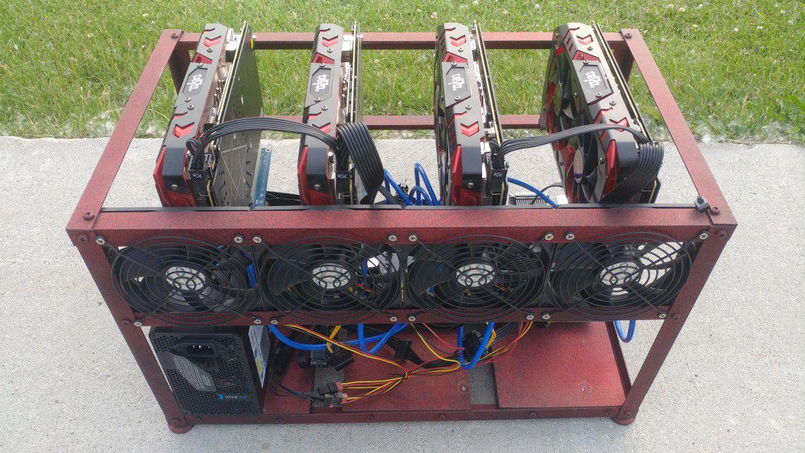 Cryptocurrency mining rig mini rx580 etherium