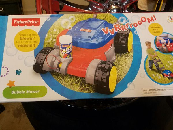 Fisher Price Bubble Blower Lawn Mower For Sale In Antelope Ca Offerup