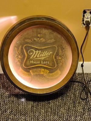 Photo Miller high life bar light 18inch