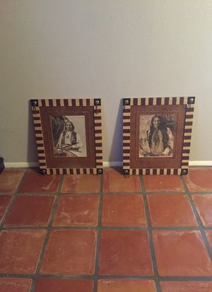 2 very handsome Native American paintings for Sale in Scottsdale, AZ