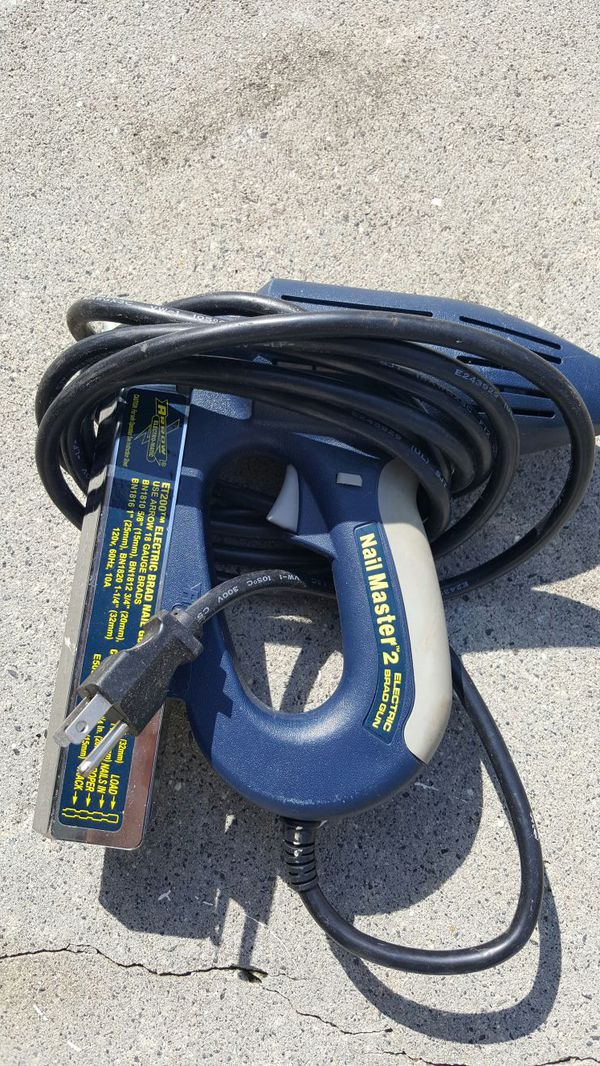 Nail Master 2 Electric Brad Nail Gun For Sale In Charlotte
