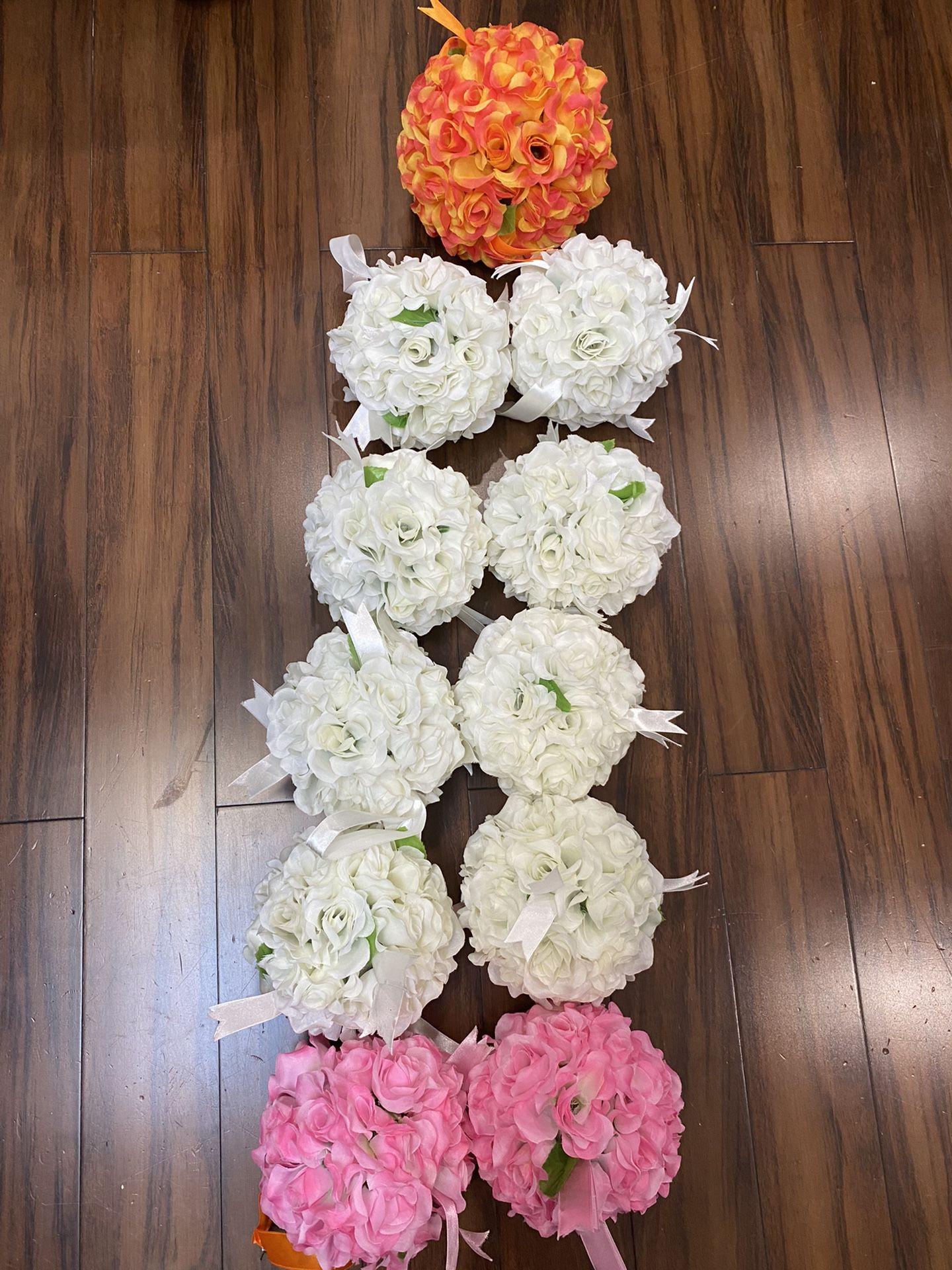 Silk Flower Balls