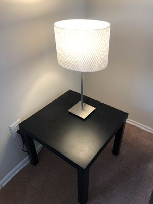 Lamp and end table for Sale in Washington, MD