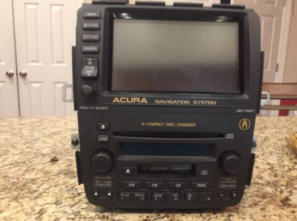 Acura MDX RadioCD Player And Navigation System Auto Parts In - Acura mdx cd player