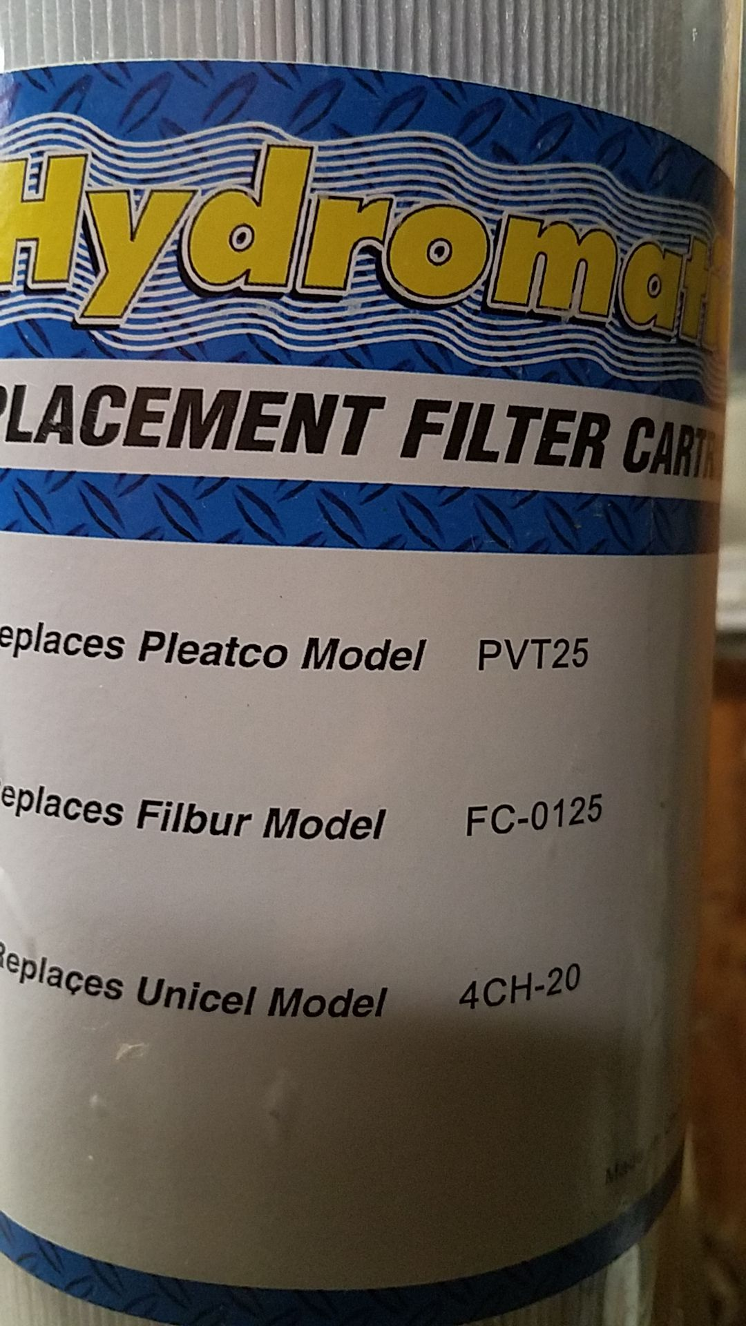 Filter for spa hot tub