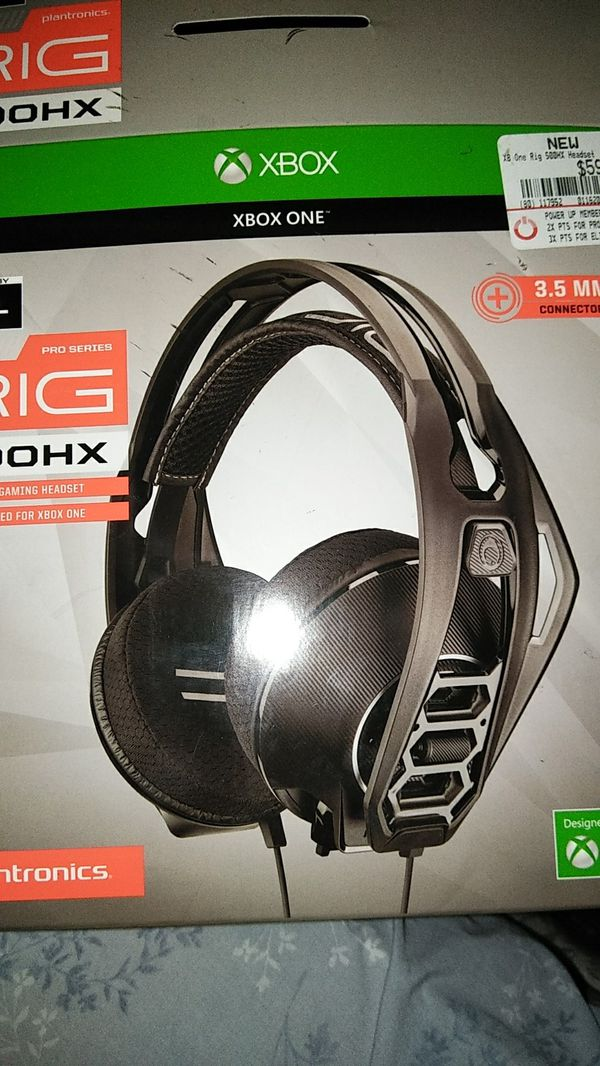 XBOX ONE RIG 500 HEADSET for Sale in Chicago, IL - OfferUp