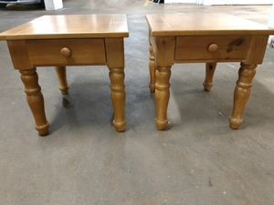 Nice Wooden, End Table Set - $40 for Sale in Washington, DC