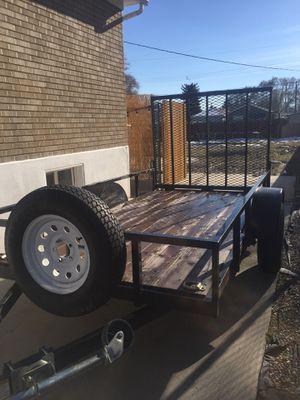 Utility trailer 5 by 10 for Sale in Salt Lake City, UT