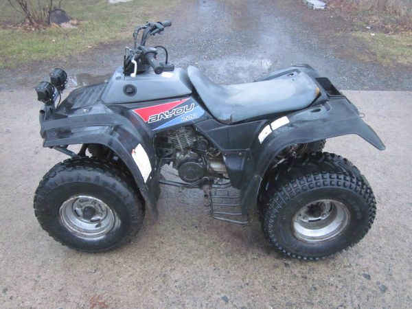 1992 Kawasaki Bayou 220 ATV w reverse (Tools & Machinery) in ...
