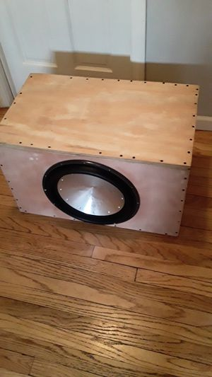 Photo Rockford Fosgate T1 15 subwoofer
